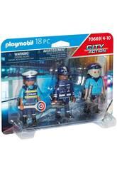 Playmobil Set di figure della polizia 70669