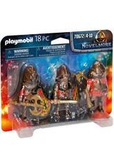 Playmobil Novelmore Set 3 Bandits de Burnham 70672
