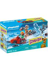 Playmobil Scooby-Doo Aventura con Snow Ghost 70706