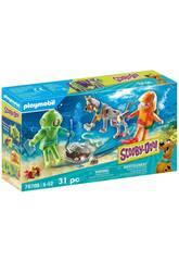 Playmobil Scooby-Doo Aventura con el Fantasma del Capitán Cutler 70708