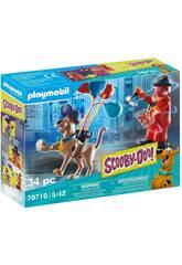 Playmobil Scooby-Doo Abenteuer mit Geist Clown 70710