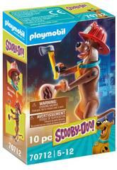 Playmobil Scooby-Doo Pompier Figure de collection 70712