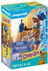 Playmobil Scooby-Doo Figura Coleccionável Polícia 70714