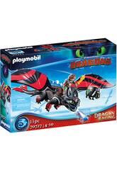 Playmobil Drago da corsa Hippo e sdentato 70727