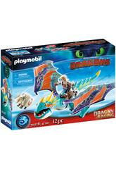 Playmobil How to Train Your Dragon Racing Astrid et Storm 70728