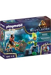 Playmobil Novelmore Vegithor Magicien des plantes 70747