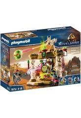 Playmobil Novelmore Sal'ahari Sands Squelette Armée Temple 70751