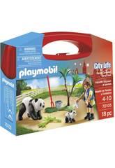 Playmobil City Life Maletín Cuidadora de Pandas 70105