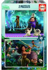 Puzzle 2x100 Raya & The Last Dragon Educa 18883
