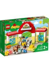 Lego Duplo Town L'Écurie et Les Poneys 10951