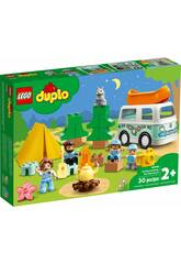 Lego Duplo Aventura en la Autocaravana Familiar 10946