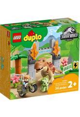 Lego Duplo Jurassic World Fuga del T-Rex y el Triceratops 10939