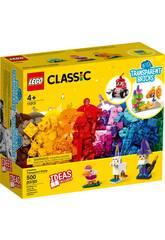 Lego Classic Ladrillos Creativos Transparentes 11013