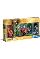 Puzzle 1000 Anne Stokes Amistad De Dragones Clementoni 39598