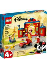 Lego Disney Parque y Camión de Bomberos de Mickey y sus Amigos 10776