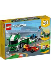 Lego Creator Le Transporteur de Voitures de Course 31113
