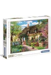 Puzzle 1000 The Old Cottage Clementoni 39520