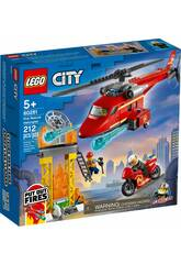 Lego City Helicóptero de Rescate de Bomberos 60281
