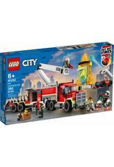 Lego City L'unité de commandement des pompiers 60282