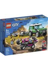 Lego City Furgoneta de Transporte del Buggy de Carreras 60288