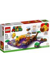 Lego Super Mario Ensemble d'extension Le marais empoisonné de Wiggler 71383