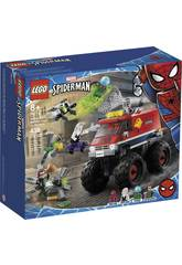 Lego Súper Helden Marvel Monster Truck von Spiderman vs. Mysterio 76174