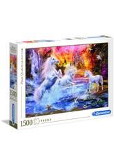 Puzzle 1500 Unicornios Salvajes Clementoni 31805