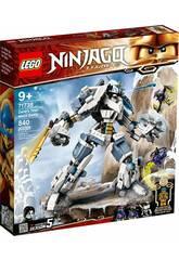 Lego Ninjago Le robot de combat Titan de Zane 71738