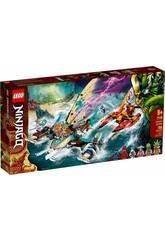 Lego Ninjago Batalla Naval en Catamarán 71748