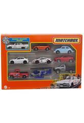 Matchbox Pack 9 Vehículos Mattel X7111