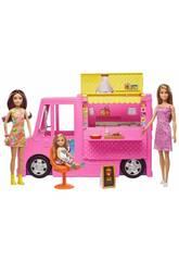 Barbie et ses Soeurs Food Truck et Accesoires Mattel GWJ58