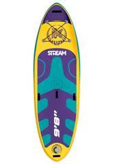 Tabla Paddle Surf Stand-Up Kohala Stream River 295x86x15 cm. Ociotrends KH29510