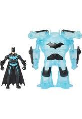 Batman Figura 10 cm. com Armadura Bat Tech Bizak 6192 7829