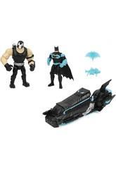 Batman Batmoto con 2 Figuras 10 cm. Bizak 6192 7830