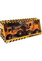 Camion de travaux routiers et pelleteuse AVC 5107