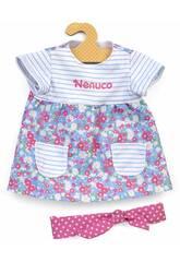 Nenuco Vêtements de Poupée sur Cintre Robe Bleu à Fleur 42cm Famosa 70016291