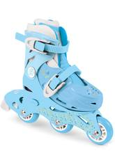 Patines Funbee Tri-Skate 2 en 1 Azules Talla 27-30 D'Arpèje OFUN084-G