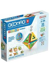 Geomag Green Super Colors Panels 35 Toy Partner 377