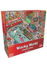 Puzzle 1.000 Wacky World Mudanza Goliath 919245