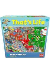Puzzle 1.000 That's Life Brigada De Bomberos Goliath 919260