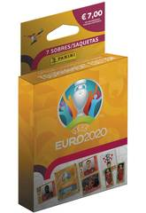 Euro 2020 Éco-blister de 7 Pochettes Panini 9788427871755