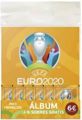 Euro 2020 Promopack Álbum con 6 Sobres Panini 9788427872257