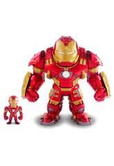 Avengers Figura Hulkbuster Metal com Iron Man Simba 253223002