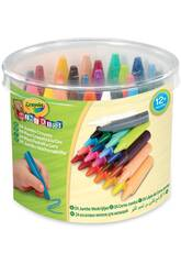24 pastelli Jumbo lavabili Crayola 784