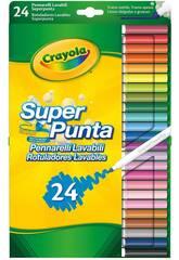 24 Pennarelli Super Lavabili Pastello 7551