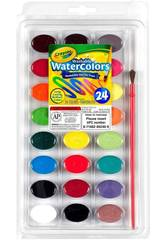 24 acquerelli lavabili Crayola 528