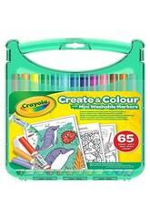Crayola Washable Marker Pen Case 65 Pieces 04-5227