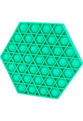 Pop It Hexagone Vert