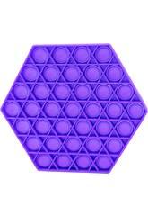 Pop It Hexagon Lilas