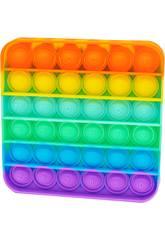 Pop It Quadrado Rainbow